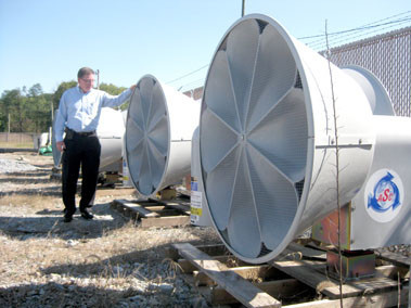 Some of TMI's warning sirens are shown in this 2011 file photo