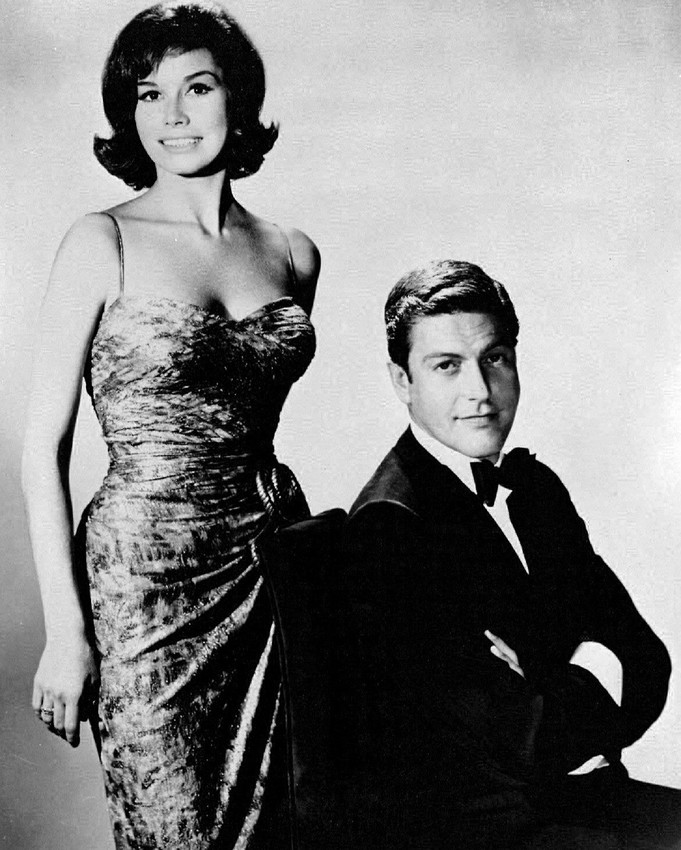 Mary Tyler Moore and Dick Van Dyke