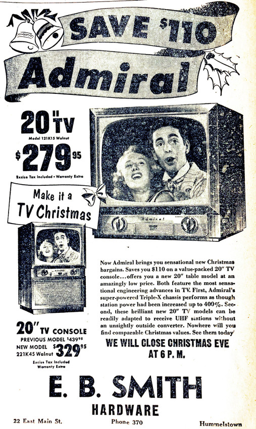 As we have told you before, must of the pictures in newspapers from this era were in ads. This quarter-page ad was typical of the times.