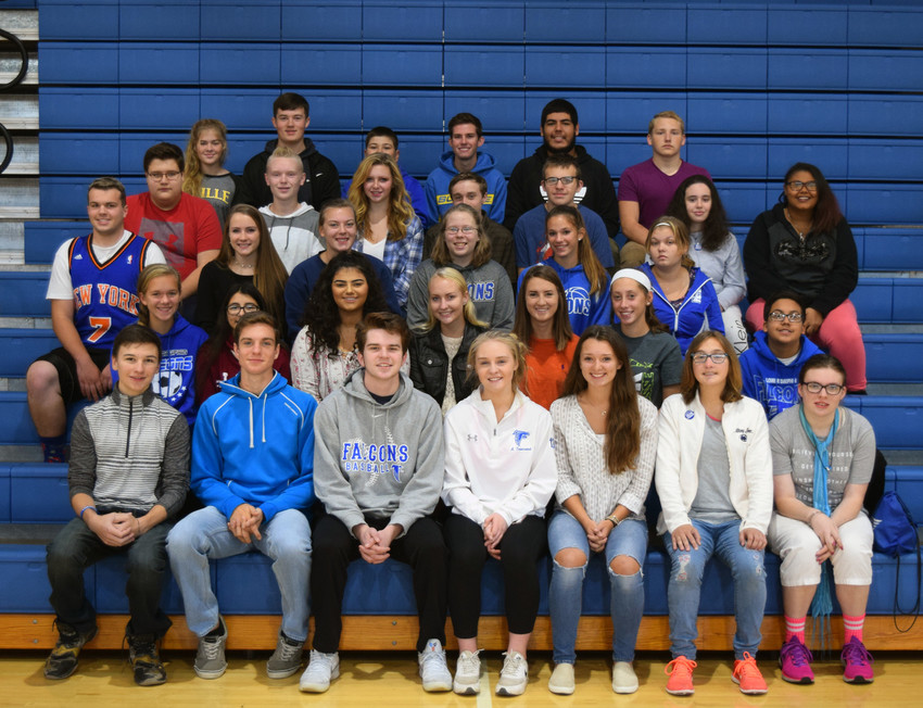 About 40 Lower Dauphin High School students recently were honored as part of the PRIDE program.