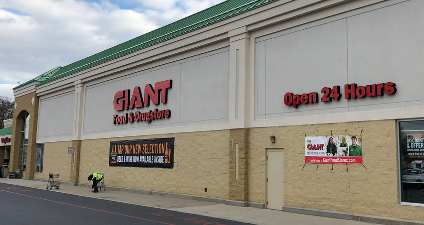 Giant is located at 450 E. Main St., Middletown.