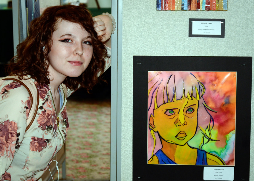 Juliette Eckert, junior at Middletown Area High School