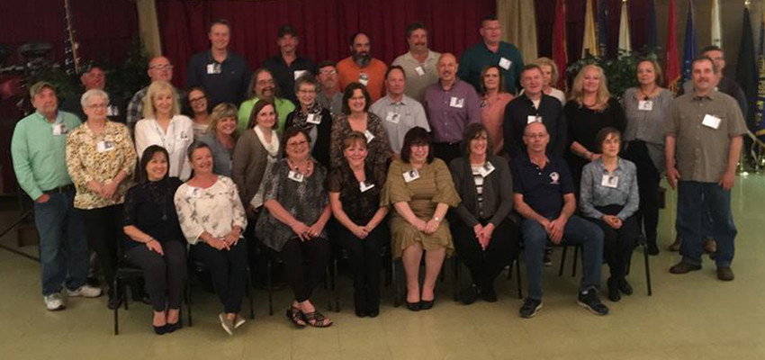 The Middletown Area High School Class of 1977 held its 41st class reunion April 28 at American Legion Post 594.  Thirty-five classmates attended.