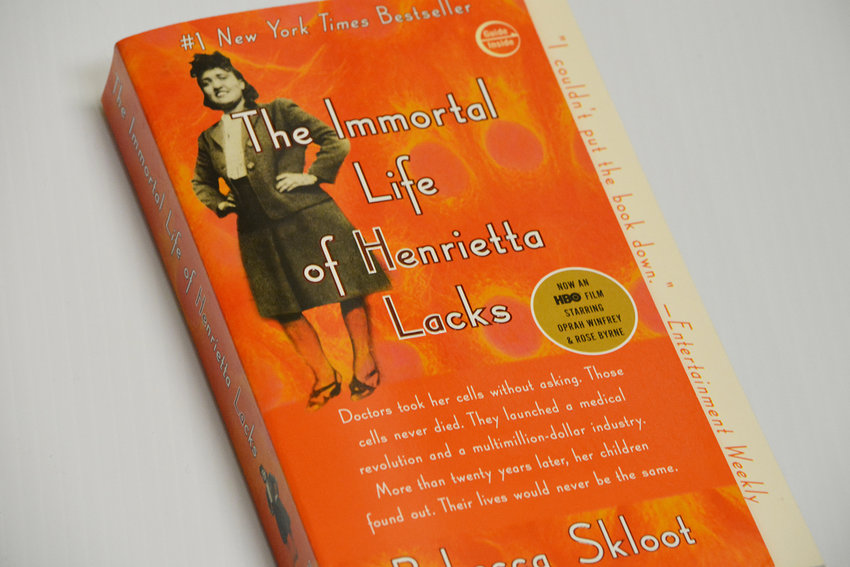 """The Immortal Life of Henrietta Lacks"" by Rebecca Skloot traces the history of a group of scientists learning to grow human cells from the cervical cancer of a Baltimore woman in the 1950s."