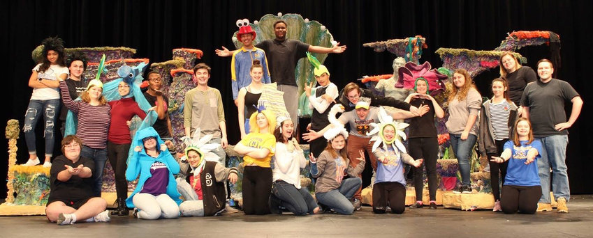 "The Middletown Area High School cast of Disney's ""The Little Mermaid"" will perform next week."