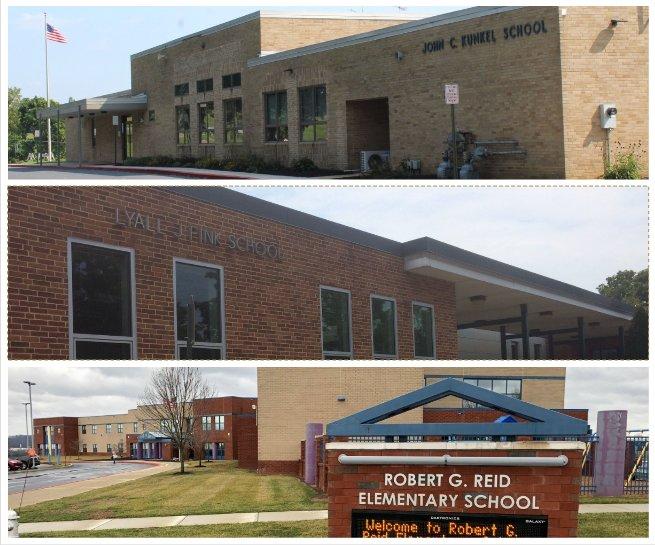 Kunkel, Fink and Reid elementary schools