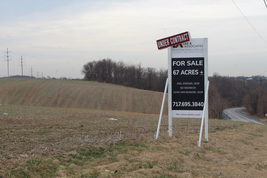 The land at the corner of Oberlin Road and Longview Drive is under contract. Wilsbach Distributors plans to build a warehouse on the site.