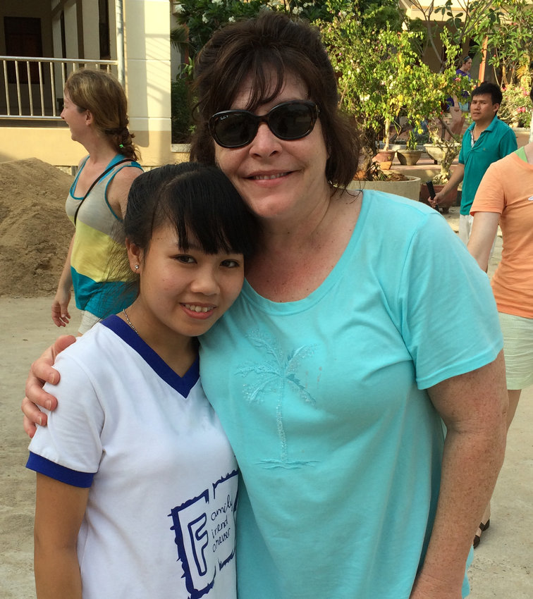 Thu met her sponsor and Londonderry resident Arlene Naples for the first time several years ago in Vietnam.