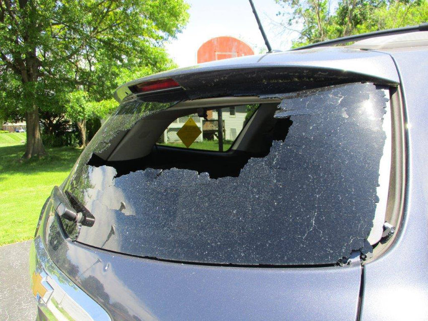 Shots from a BB or pellet gun damaged cars in Lower Swatara Township on Tuesday, May 21.