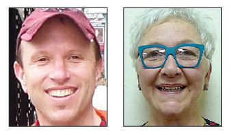 Scott Sites and Ellen Willenbecher
