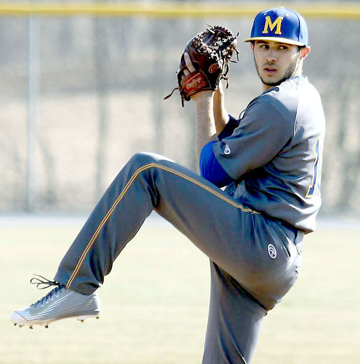 Pitcher Nathan Ocker threw a no-hitter against Palmyra on April 10, 2015, striking out 11 batters.