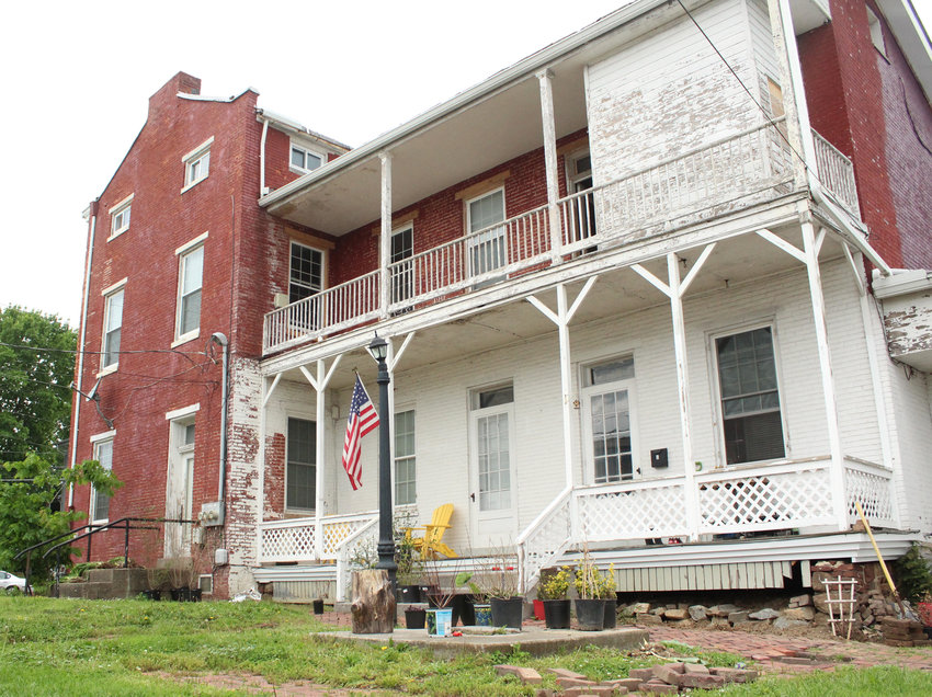 The McNair House located at the corner of Emaus and North Union streets.
