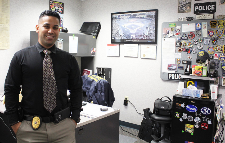Tony Gonzalez is the new Lower Swatara Police Department detective.