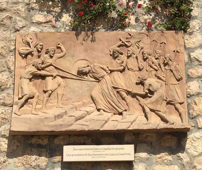 Art depicting Jesus.
