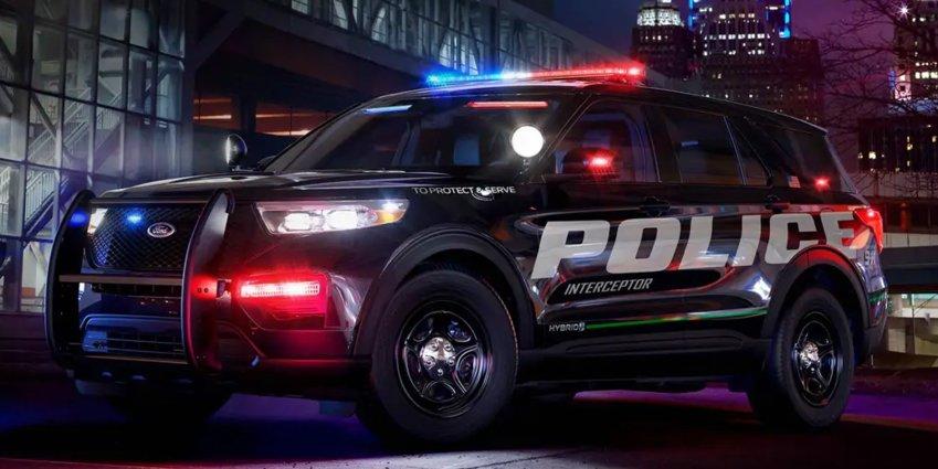 A 2020 Ford Police Interceptor