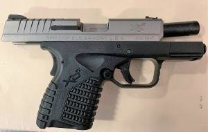 Transportation Security Administration officers detected this loaded gun in a traveler's backpack at Harrisburg International Airport on Sept. 25. Five guns have been found in the airport this year.