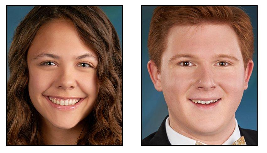 Olivia Sharrow and Aidan Ferguson