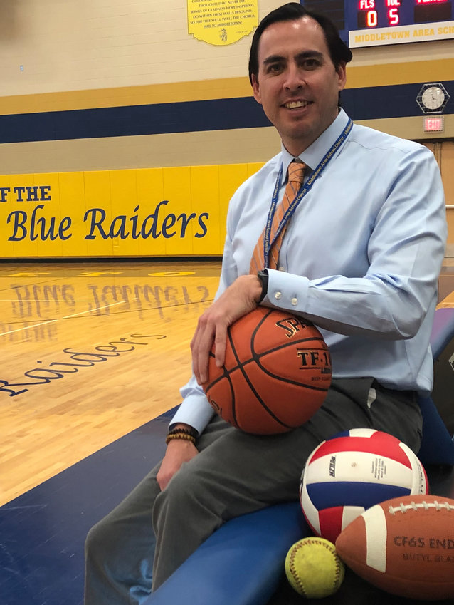 Richard Reed started Friday as athletic director for the Middletown Area School District.