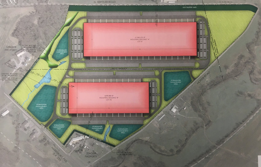 Vision Group Ventures plans warehouses for a tract on the eastern edge of Londonderry Township.