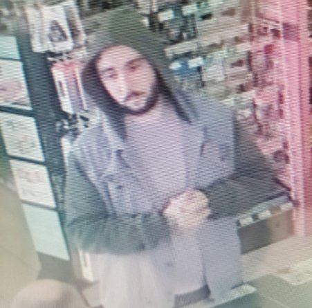 This man is a suspect in a robbery at the Hummelstown 7-Eleven on Sunday.