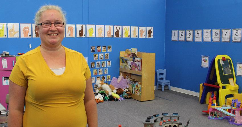 Jalinn Hall-Lehman owns Precious Stones Child Care at 100 Brown St.