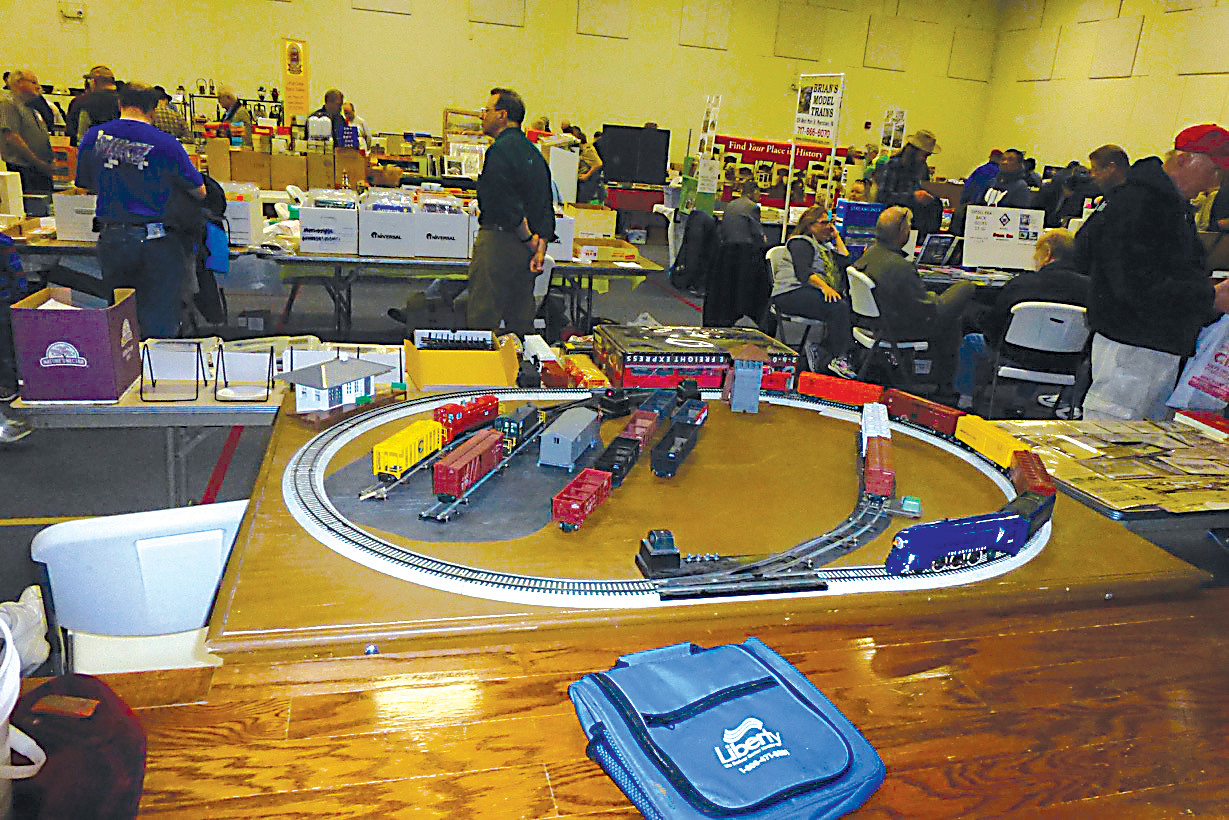 Vendors, exhibitors and train sets were part of the Harrisburg Chapter National Railway Historical Society's 31st annual Railroad Show and Collectors Market on Saturday at First Church of God fellowship hall in Middletown.