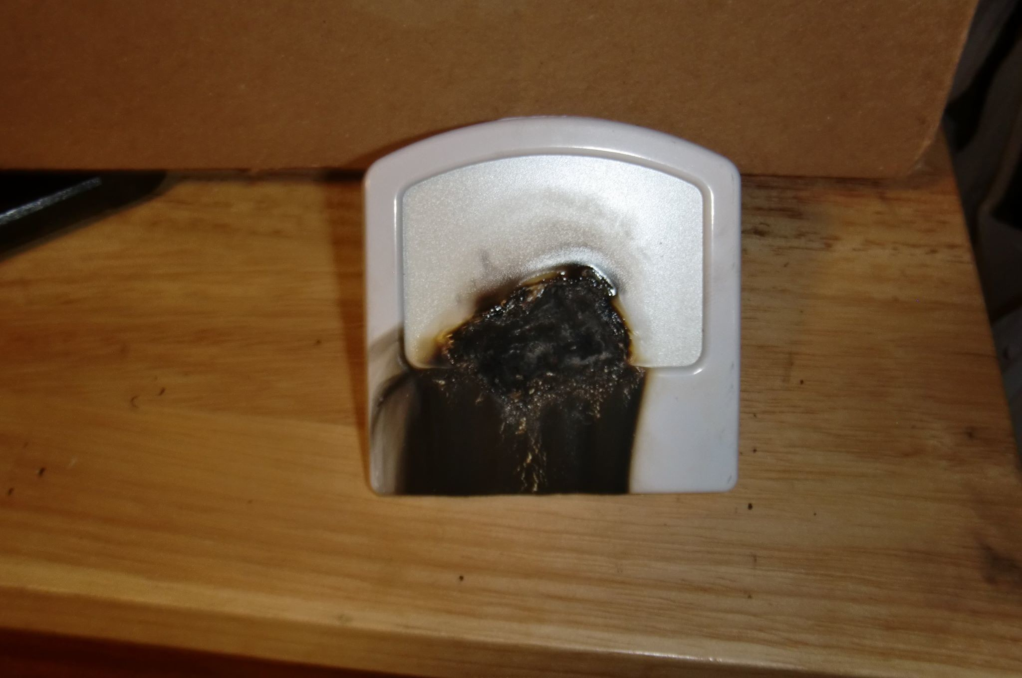 This nightlight is attributed to a fire in Upper Allen Township on March 31. These types of nighlights were given to Reid Elementary School students last fall.
