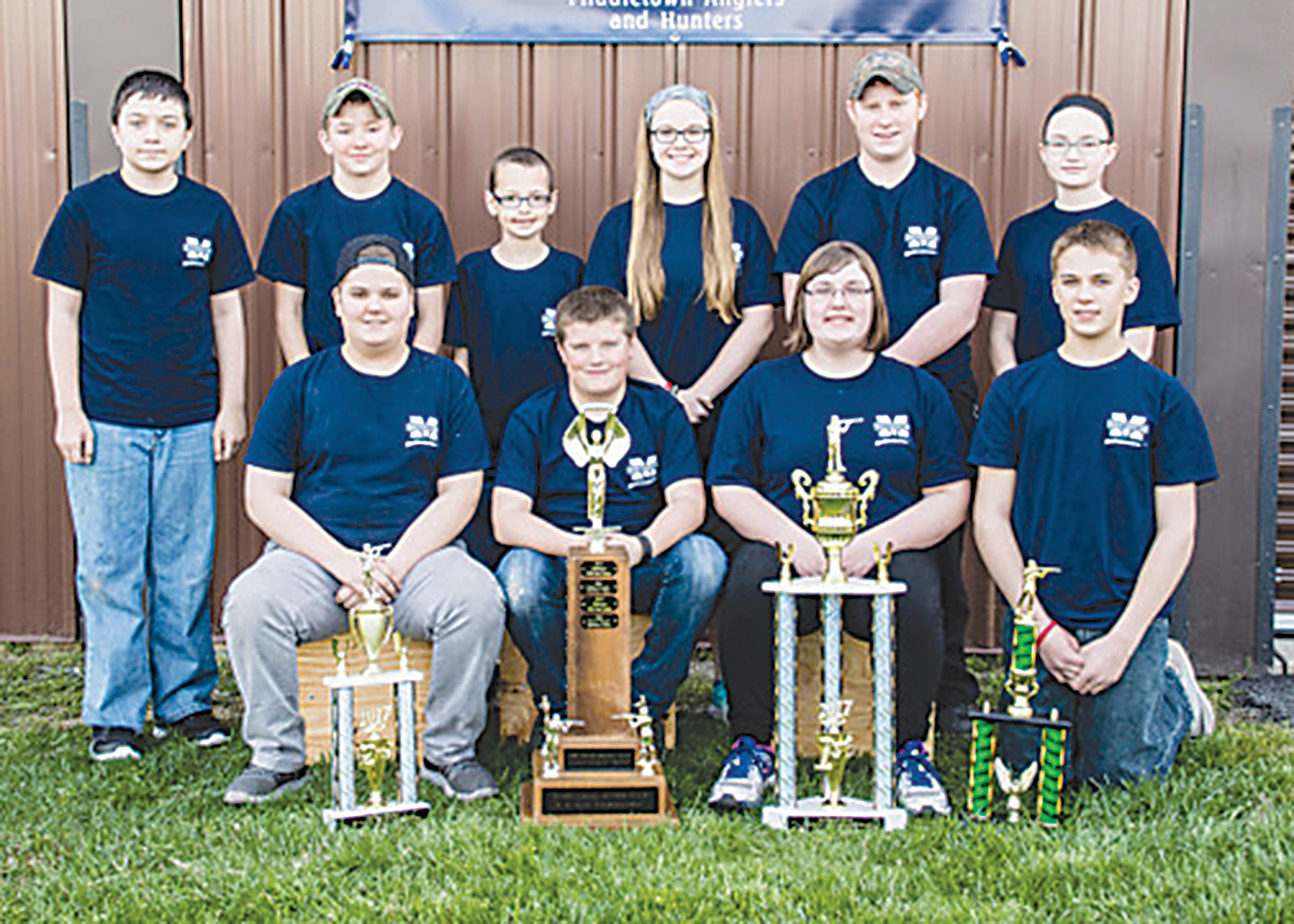 A new youth BB gun team from the Middletown Hunter's & Angler's Club took first place in the state championship match held in Harrisburg on April 8.