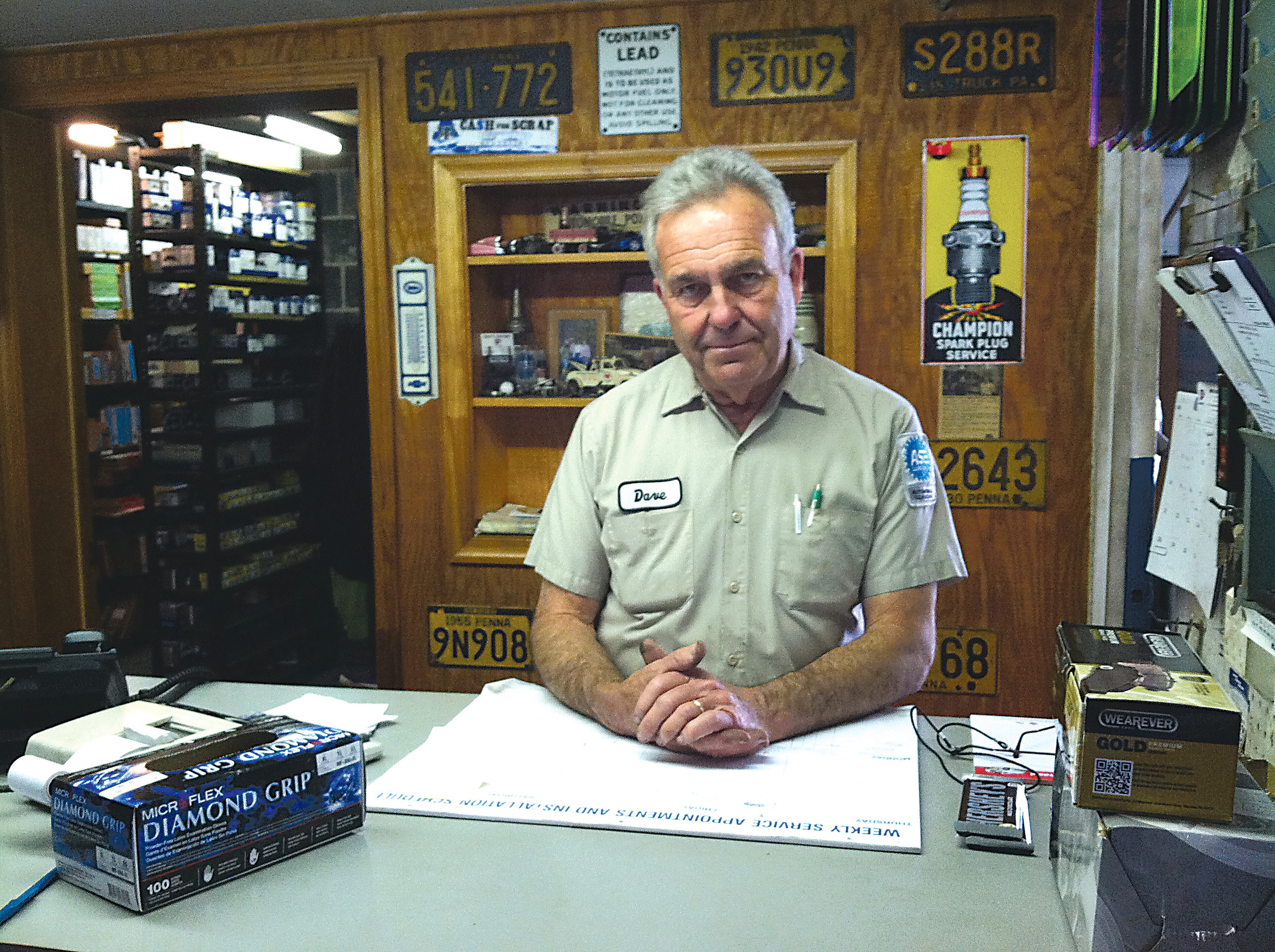 Grove Motors owner Dave Grove will close the doors of his business.