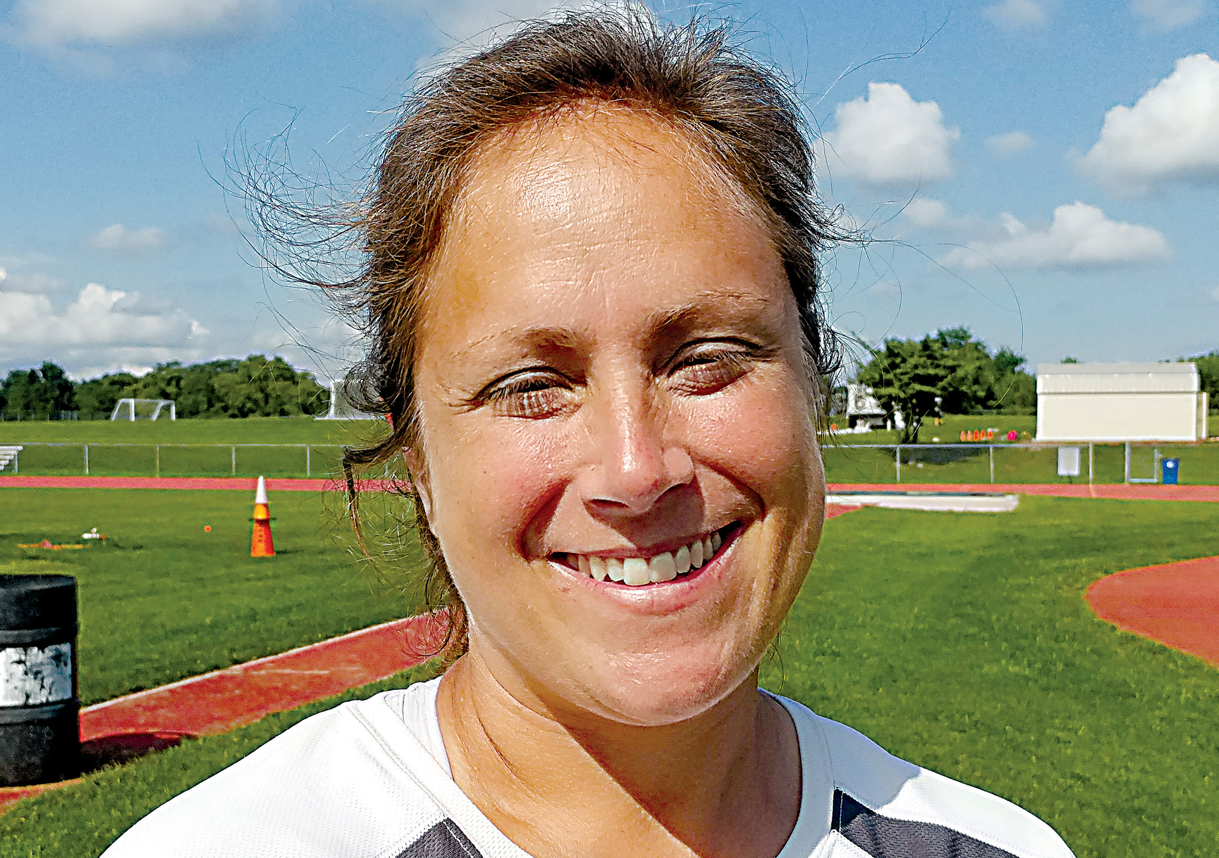Jana Woodring is entering her fifth year as the Middletown field hockey coach.