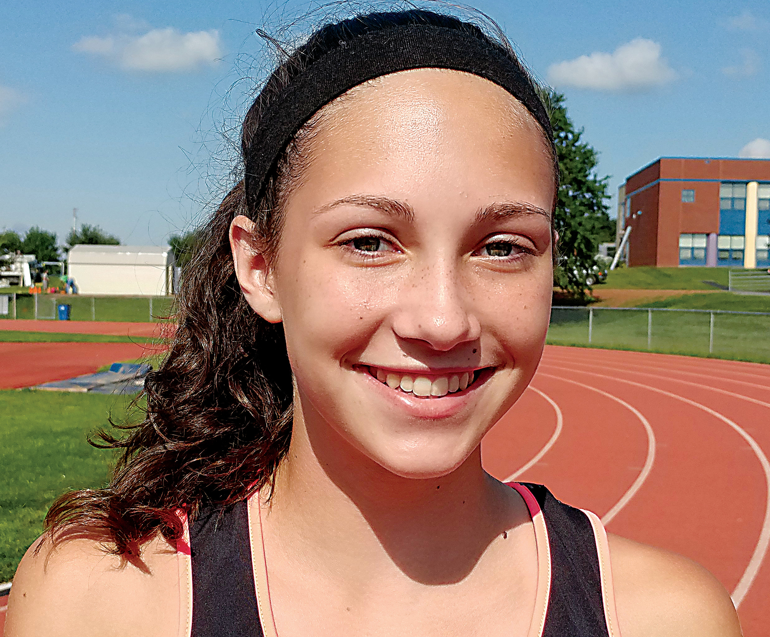 Sophomore Kiera Guckavan is a center midfielder for the Middletown Area High School field hockey team.