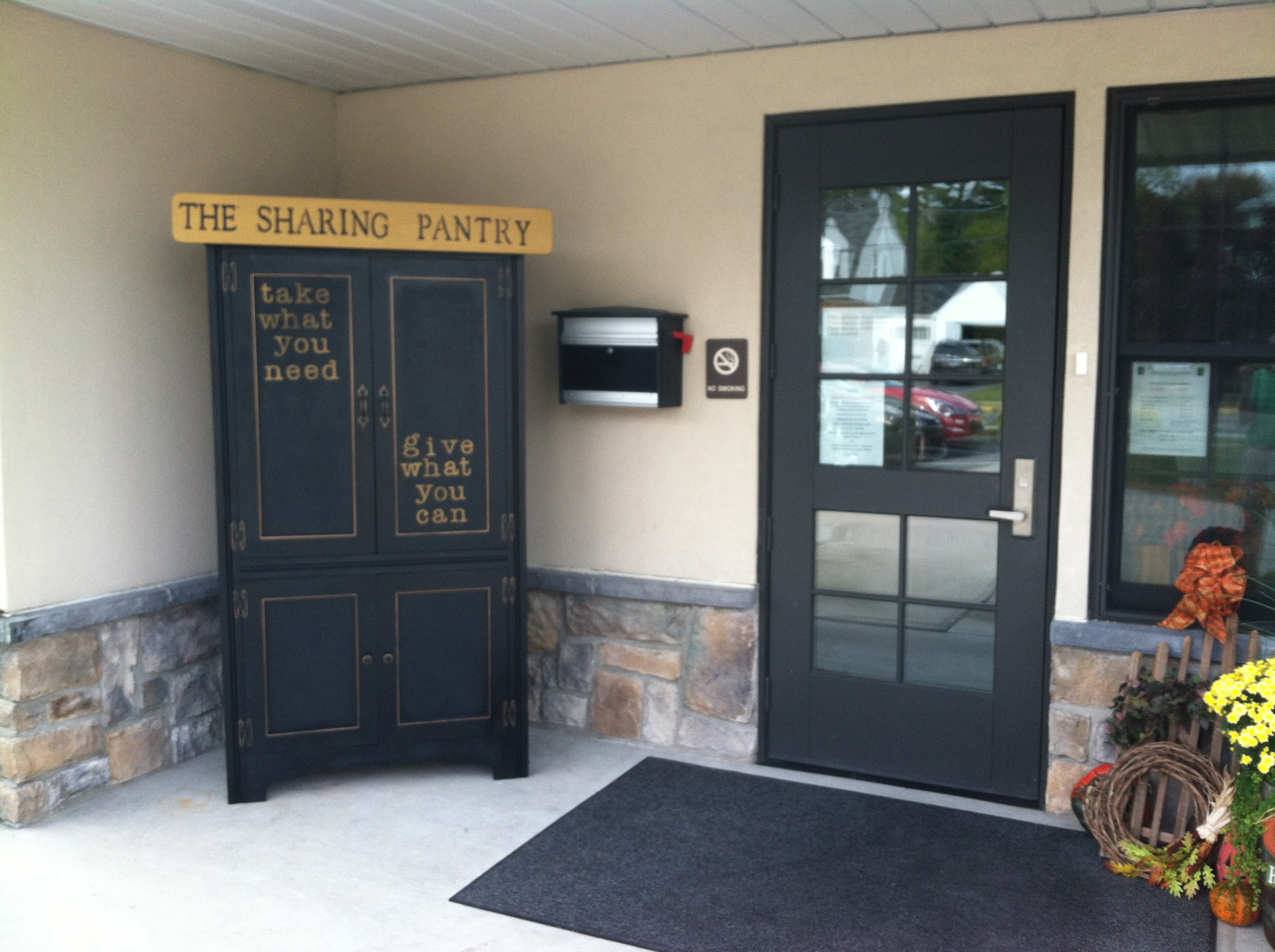 The new Little Free Sharing Pantry is now open and available 24/7 at the entrance to the Middletown Police Station on East Emaus Street.