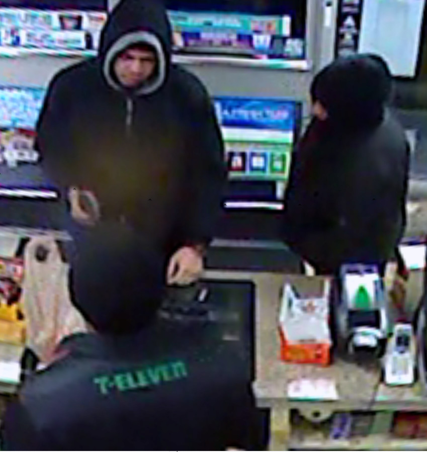 Middletown police are looking for two men who robbed the 7-Eleven at 12 E. Main St. at gunpoint at about 3 a.m. Tuesday, Jan. 16.