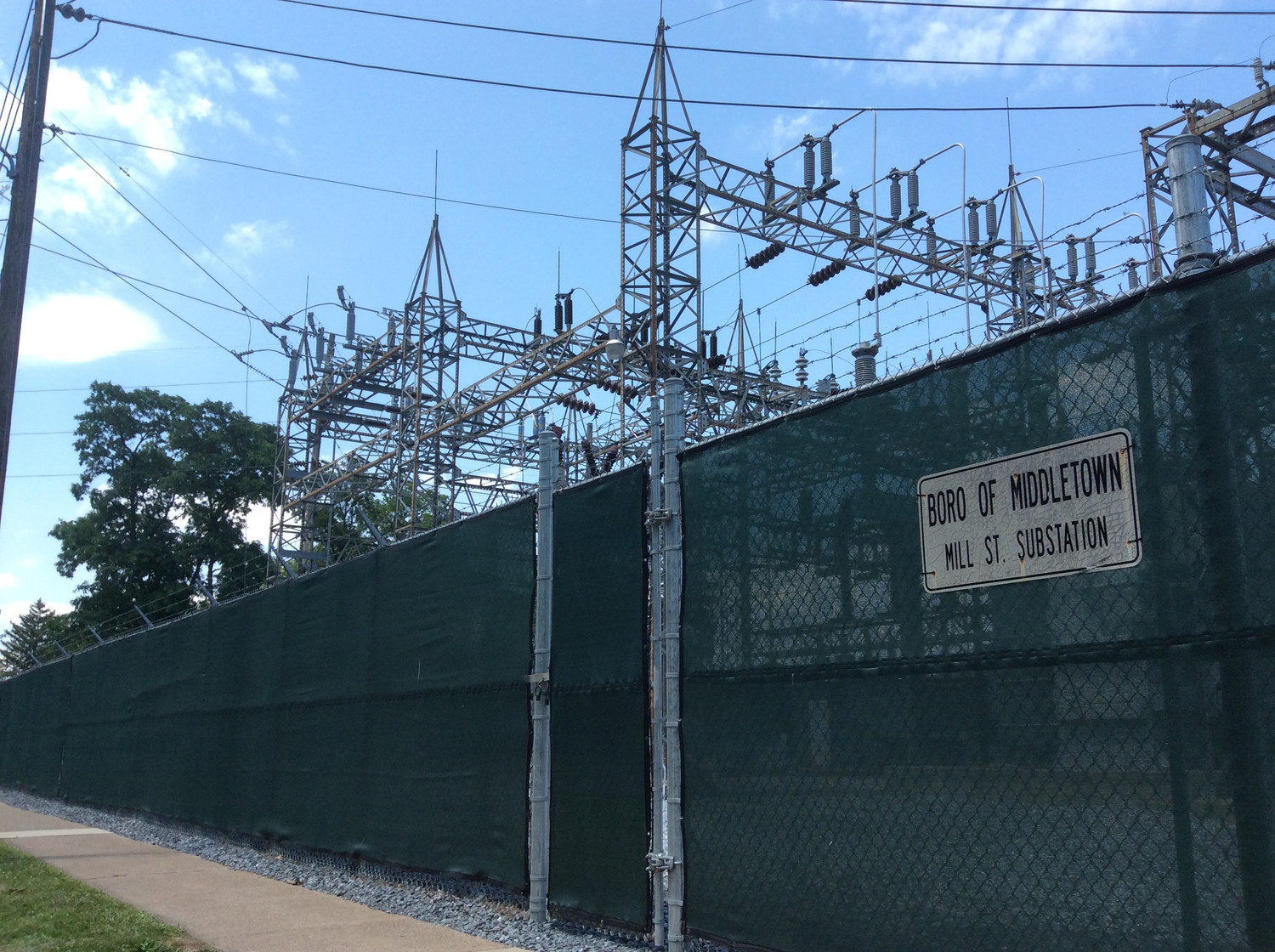 The Capital Improvement Plan recommends moving the Mill Street substation out of the flood plain - after the borough is able to upgrade the Spruce Street substation.