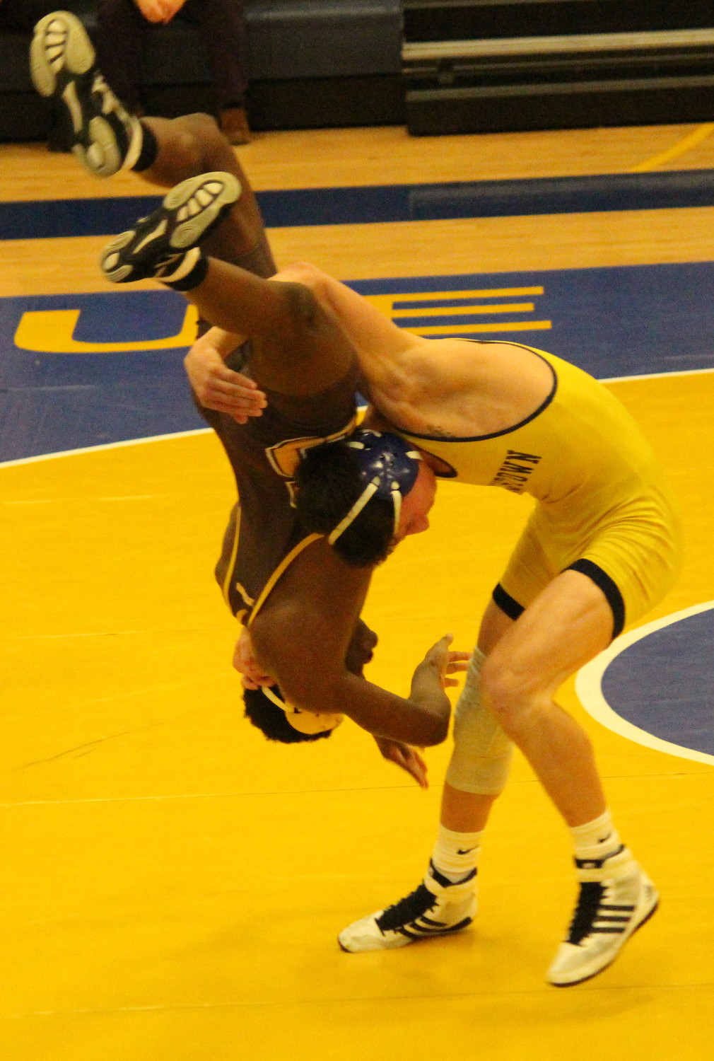 Senior Devin Martin registered a 15-0 technical fall at 145 pounds vs. Milton Hershey.