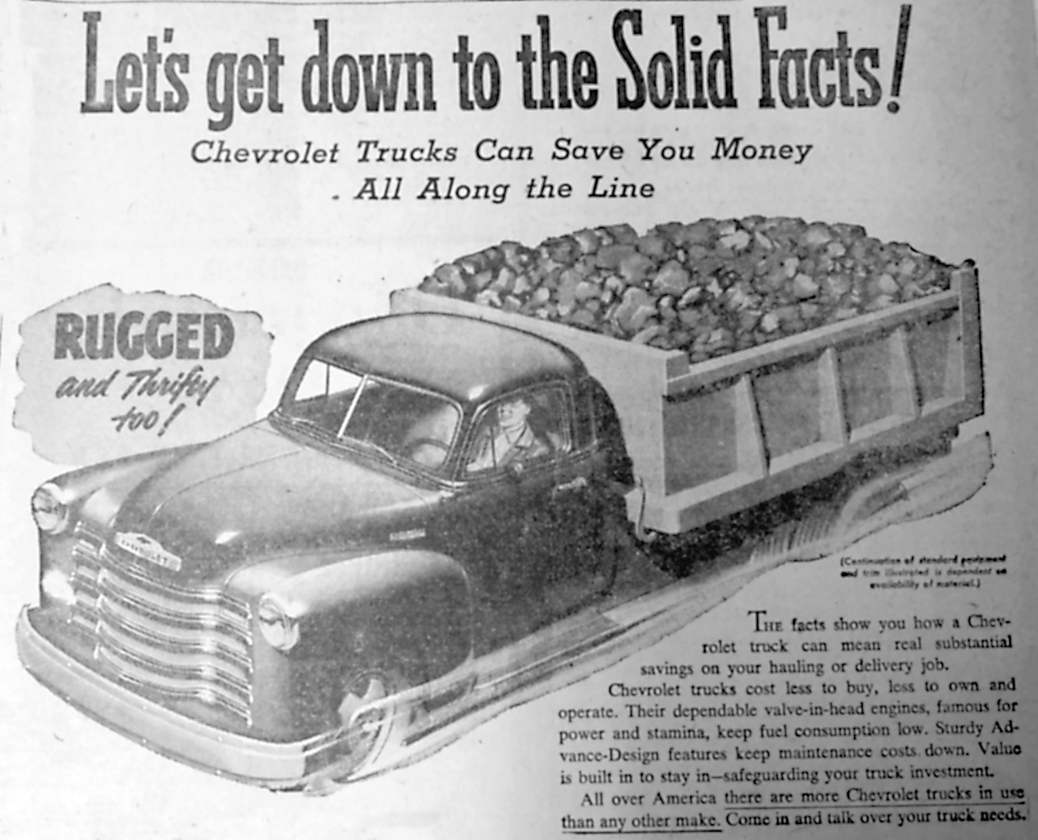 Editor's note: If you are a regular reader of From The Vault, you know that the older the edition of the Press & Journal we feature, the fewer photos appear. This illustration is from a Grove Chevrolet ad for a truck. Ads were one of the few places to find photos or illustrations during this time. Few appeared with news stories. Grove Chevrolet was located at 452 E. Main St., Middletown. It just recently closed.