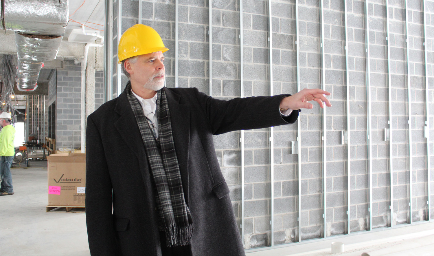 Mark Rice gave the Press & Journal a tour of the future Fairfield Inn & Suites HIA.