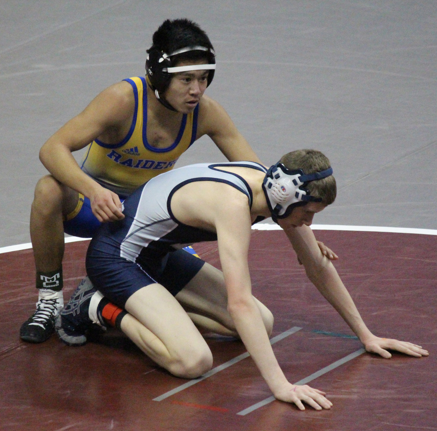 Zach Malay lost to Devan Blose of Newport.