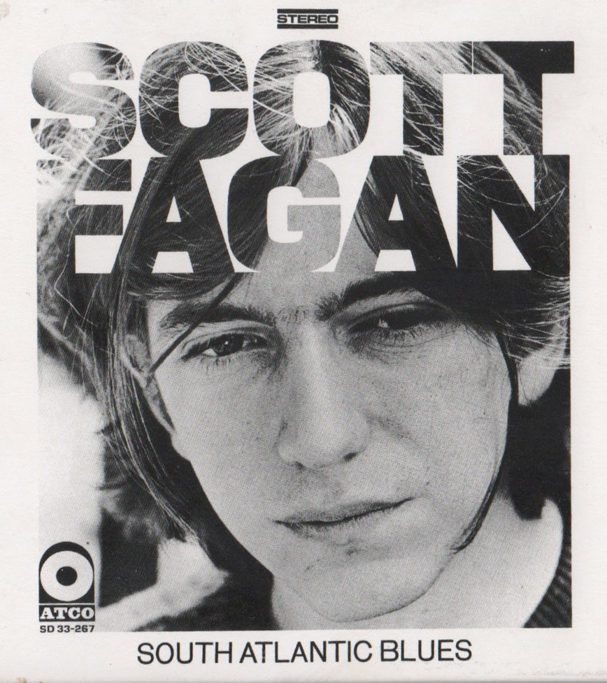 "The cover of the album ""South Atlantic Blues"" by Scott Fagan, now of Middletown."