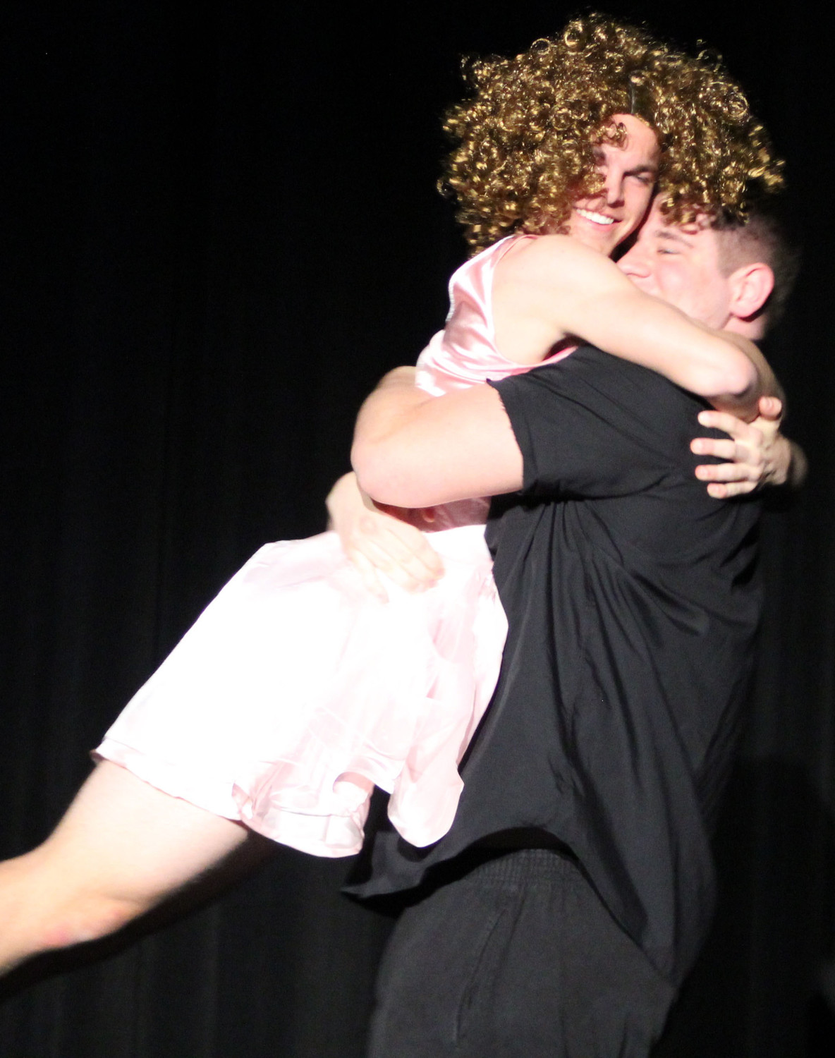 "Jacob Spear and Brendan Douglass performed a ""Dirty Dancing"" inspired dance during the Mr. Middletown pageant on April 13."