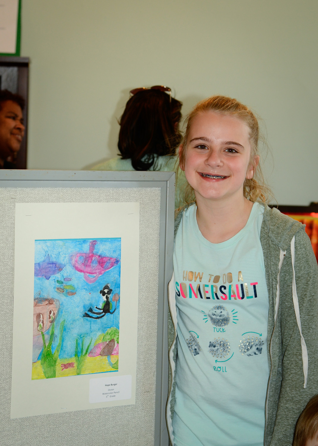 Hope Burger, fifth-grader at Fink Elementary School