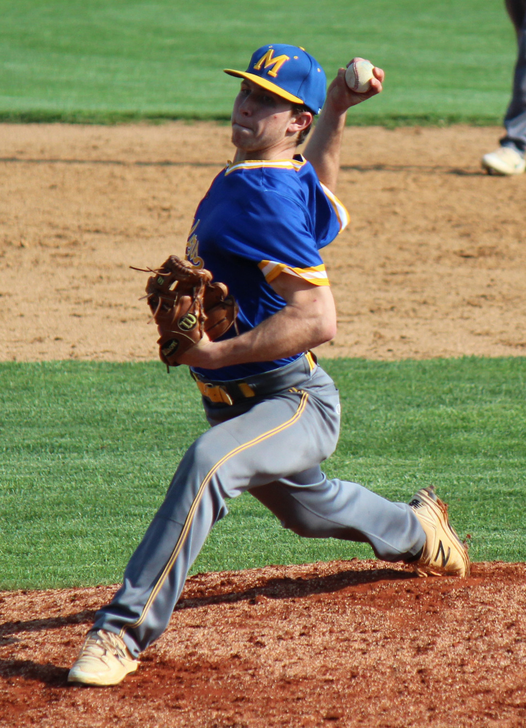 Blake Jacoby fired a shutout Monday vs. Palmyra.