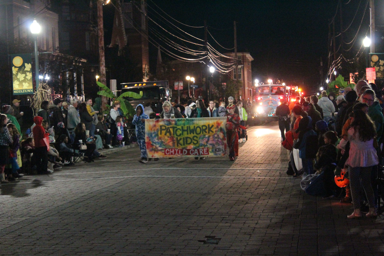 Patchwork Kids Child Care walk during the Halloween parade on Oct. 16.