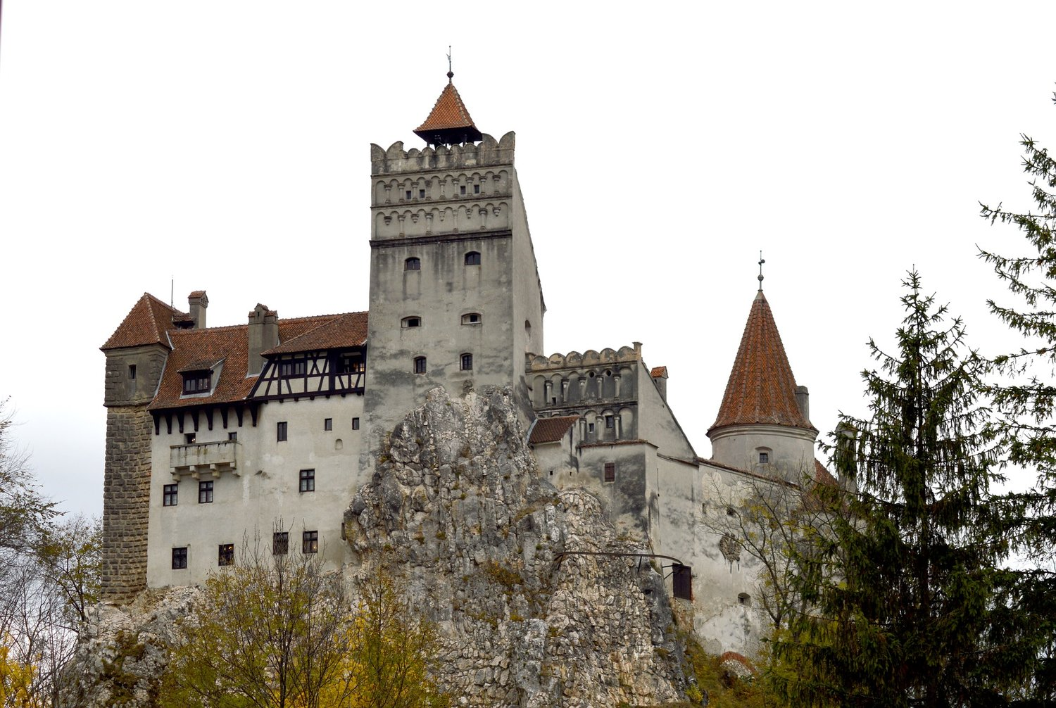 Bran Castle, built in 1212, is better known as Dracula's Castle.