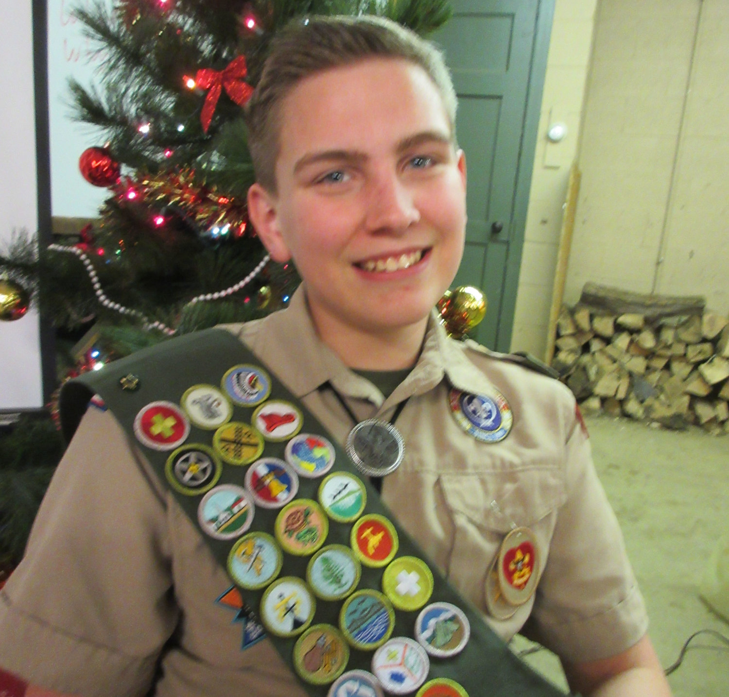 Leo Nissley was awarded the rank of Life Scout. His final Scouting goal is to earn the rank of Eagle Scout. He is in the process of searching for an Eagle Scout project to benefit the community.