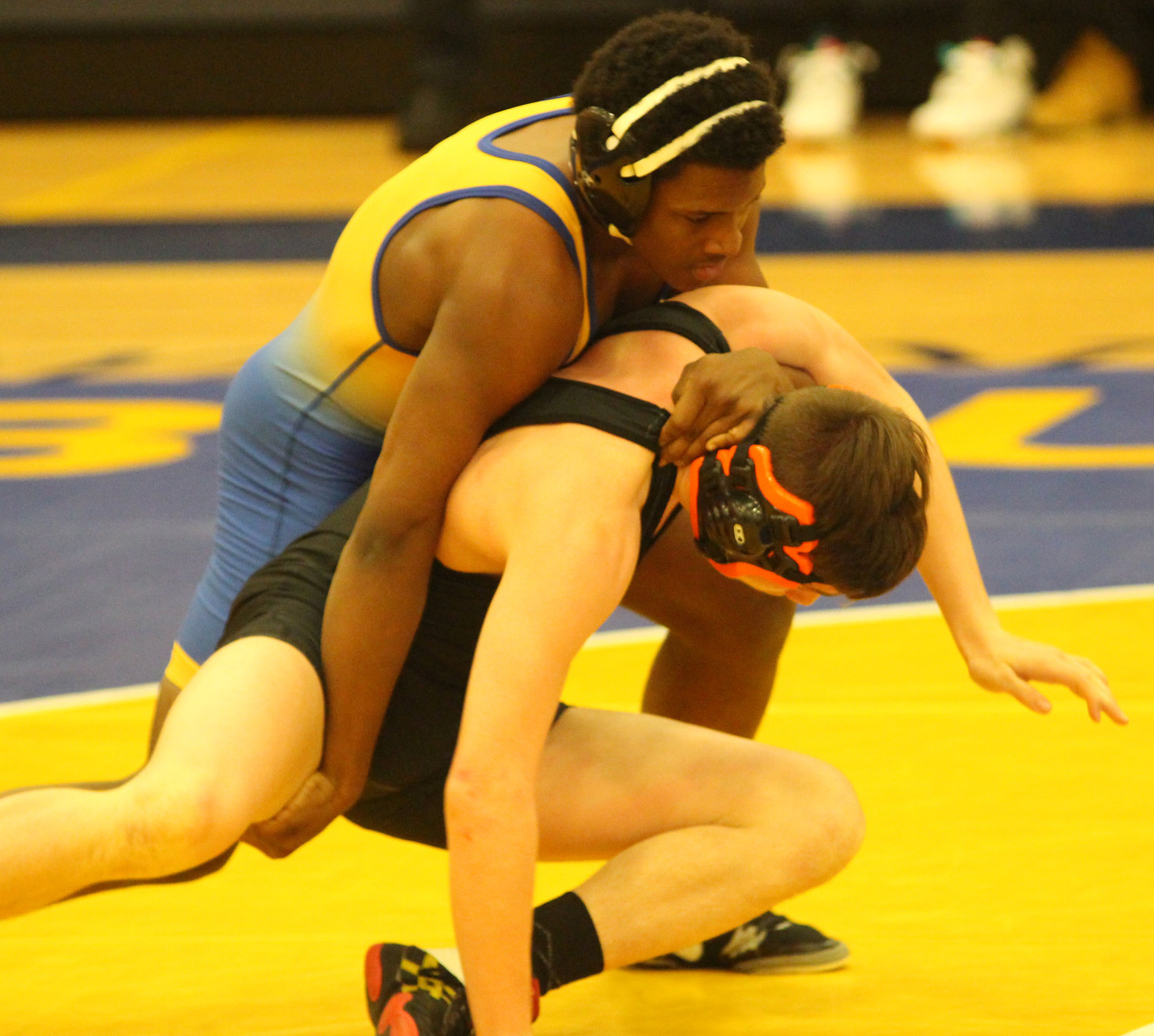 "Against Palmyra on Jan. 17, Diante ""Sterling"" Grey earned the pin at 145 pounds."