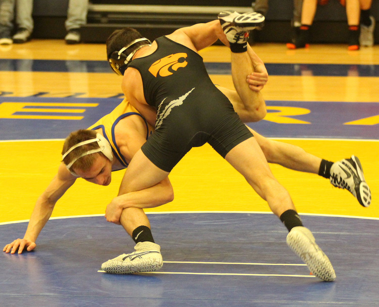 Against Palmyra on Jan. 17, Middletown's Nate Brady was victorious.