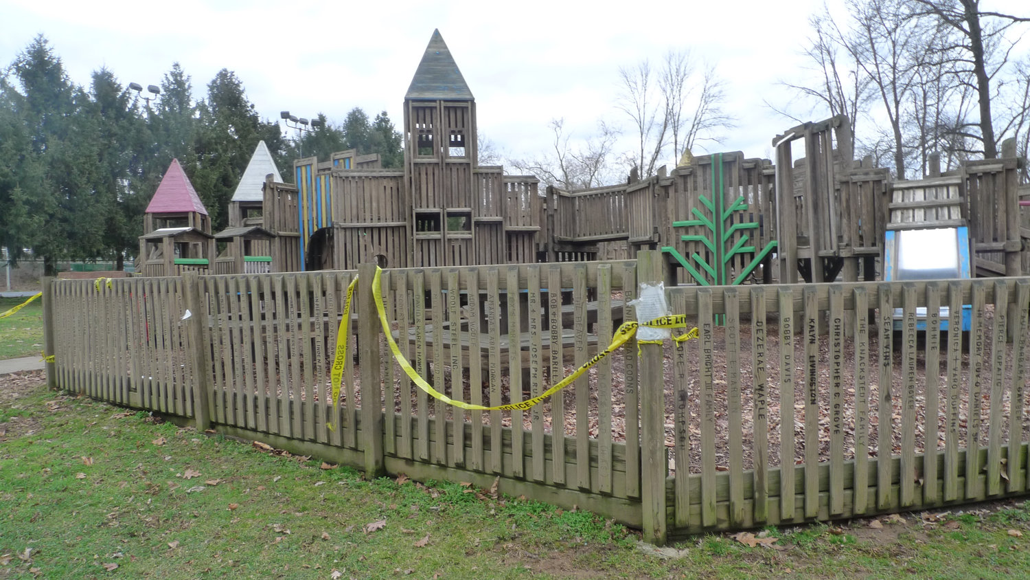 The Kids Kastle playground in Hoffer Park has been closed since June 4, 2018. Middletown Borough Council plans to apply for a state grant to help fund a replacement.