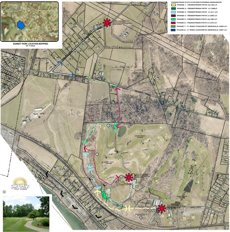 Plans show potential trails in Londonderry Township.