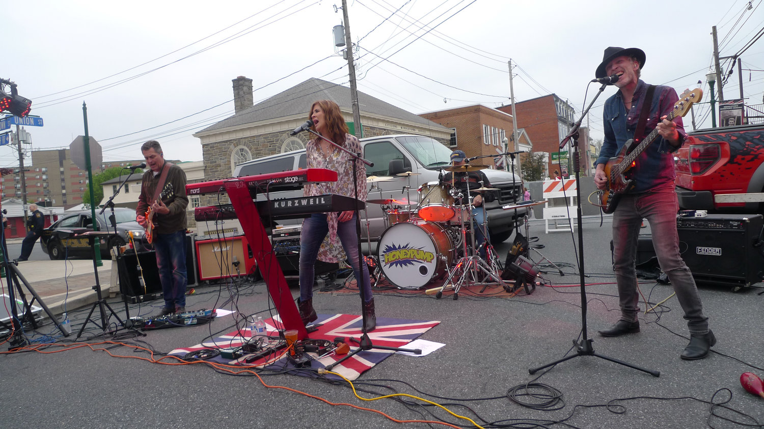 Honeypump, a Harrisburg area-based band specializing in classic rock covers, jammed throughout the Little Little Beer Festival in downtown Middletown on May 1.